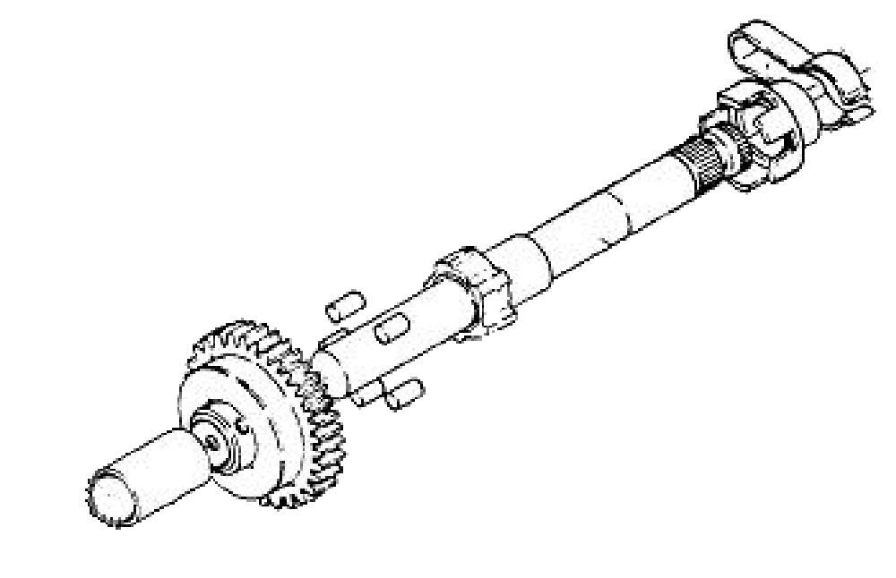 kick start transmission assembly model 99 01 02 03