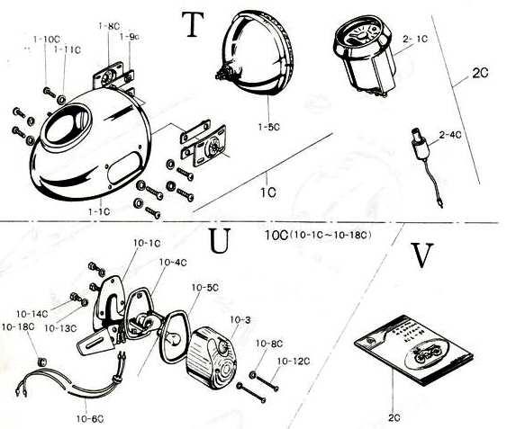 model 90 supplemental figures t u and v schematic