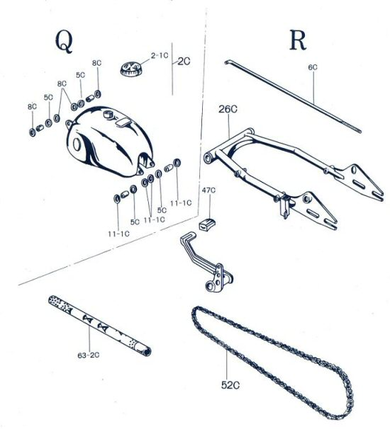 model 90 supplemental figures q and r schematic