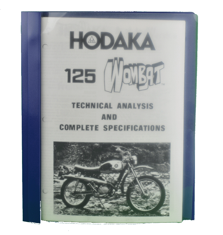 Manuals - TEMP MANUALS, Hodaka Manuals, Workshop Manuals, Owners