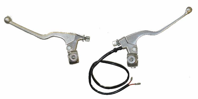 Ds 90 Brake Lever : Brake clutch lever assembly for the models