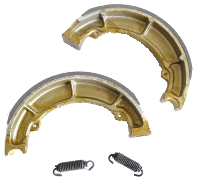 Rear brake shoes for the Models 92B+ 93B 94 95 96 97 98 99