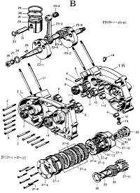 model 92 schematic list hodaka parts com rh hodaka parts com